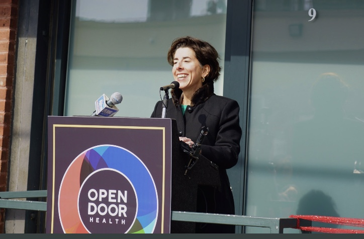 Raimondo uses coronavirus crisis as audition for Biden VP slot