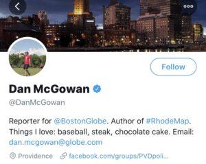 Dan McGowan of the Boston Globe on the pandemic