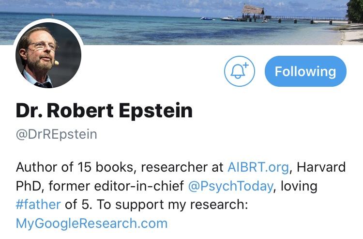 Dr. Robert Epstein discusses testing on the John DePetro Radio Show