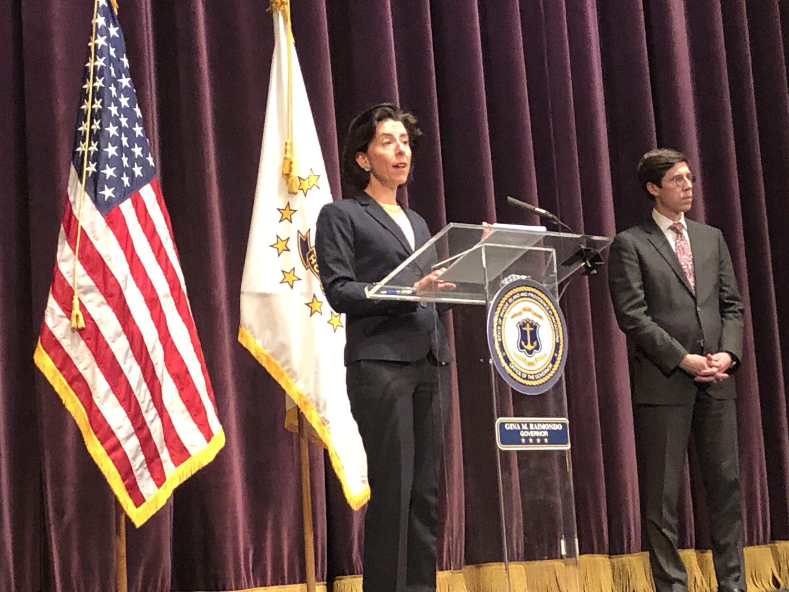 John DePetro asked Gov. Raimondo about summer sports camps