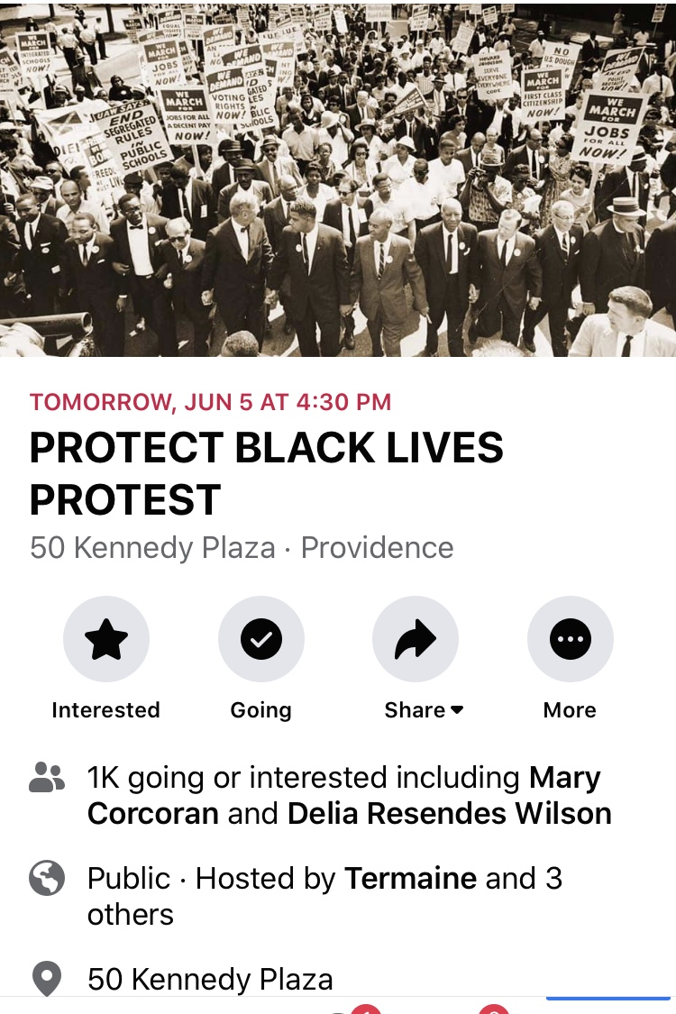 Read more about the article Dan McGowan of the Boston Globe describes the protest