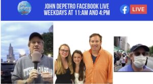 Read more about the article Video: John DePetro Show from the state house
