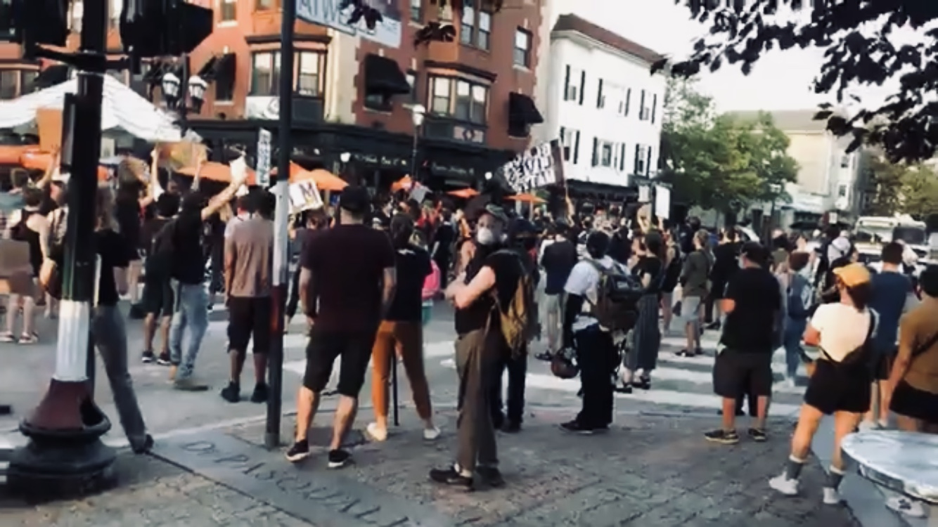 Video: Black Lives Matter Protesters terrorize Federal Hill