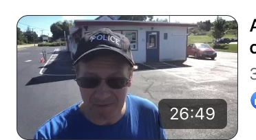 Video: Allie's donuts refuses DePetro wearing a police hat