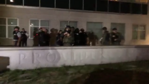 Read more about the article Video: anti-police protester arrested fighting Providence police