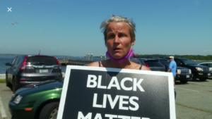 Video: Black Lives Matters protesters on jet skis interrupt Rhode Island Trump Boat parade