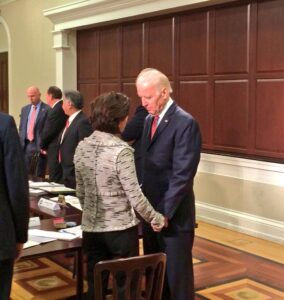 Political rumor: Raimondo met with Biden team for VP slot