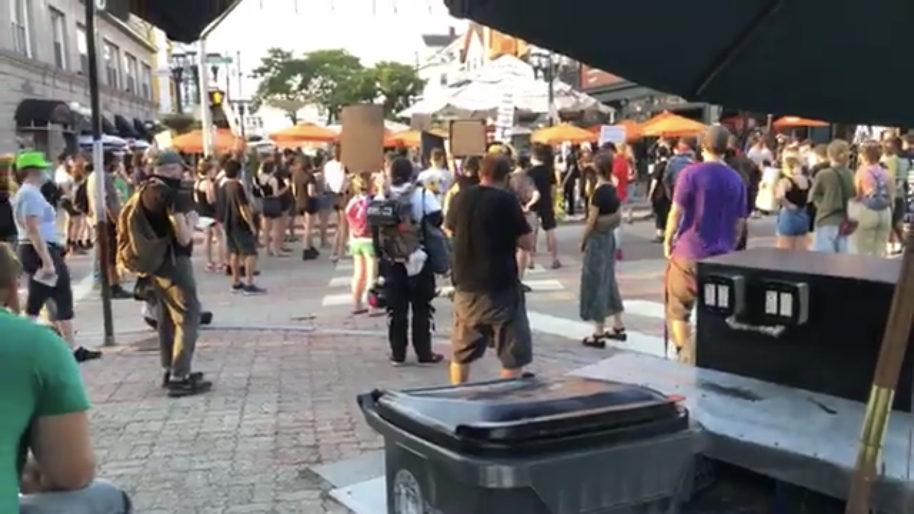 Video: The new mob arrives on Federal Hill