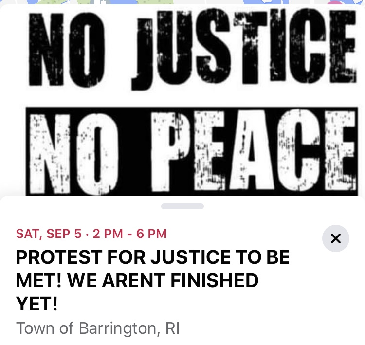 Black Lives Matter set to protest Barrington Saturday
