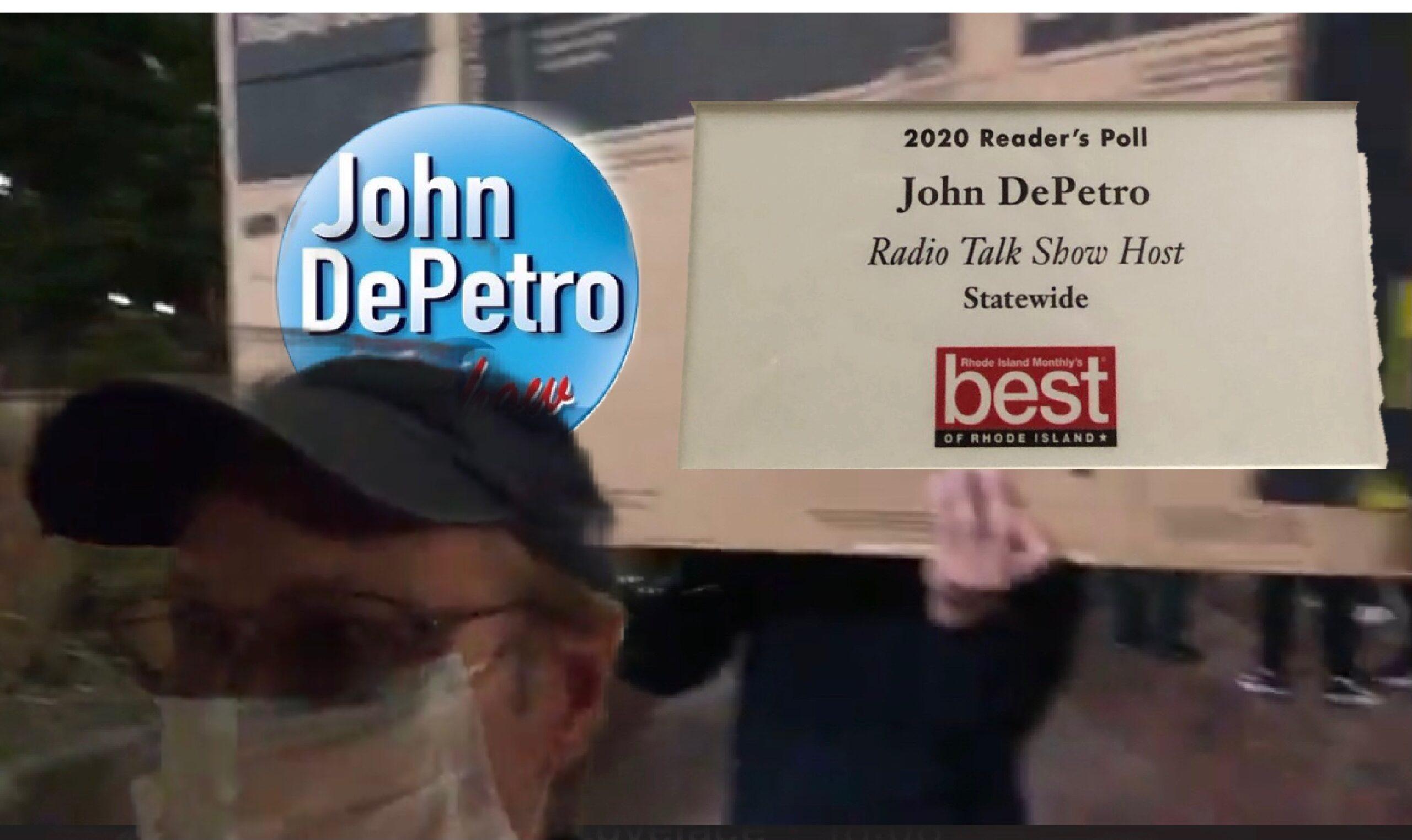 Video: John DePetro Show before Raimondo briefing