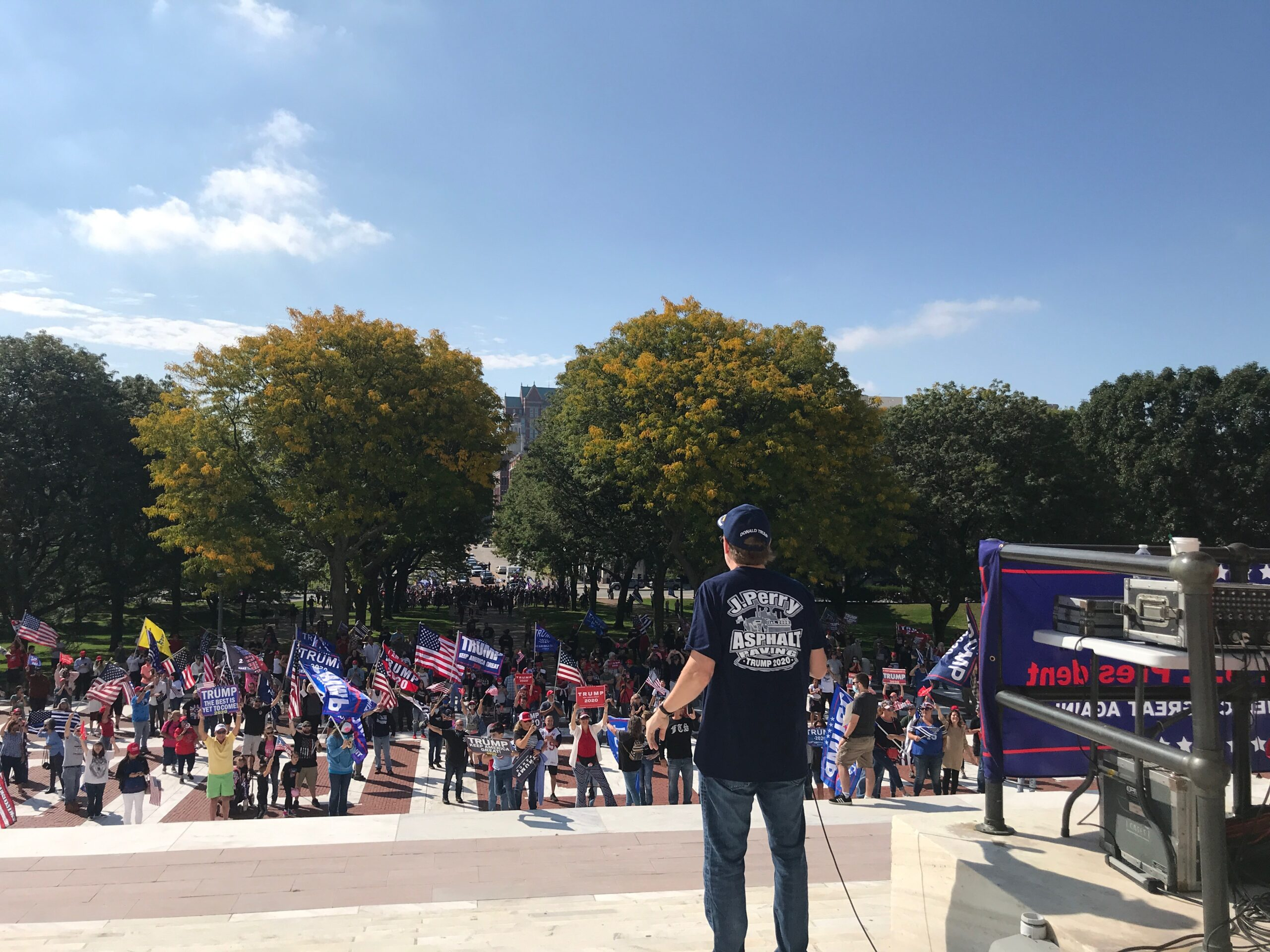 Video: Voting reform rally