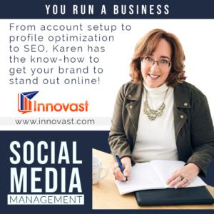 Karen Etchells Innovast Digital Marketing Social Media Management