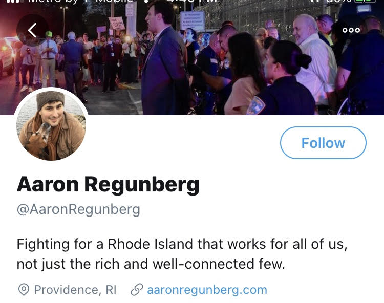 Regunberg the progressive cheap bastard