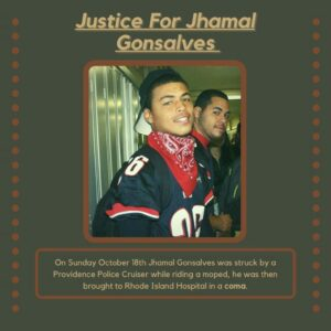 Audio: Jhamal Gonsalves sitting up in a chair