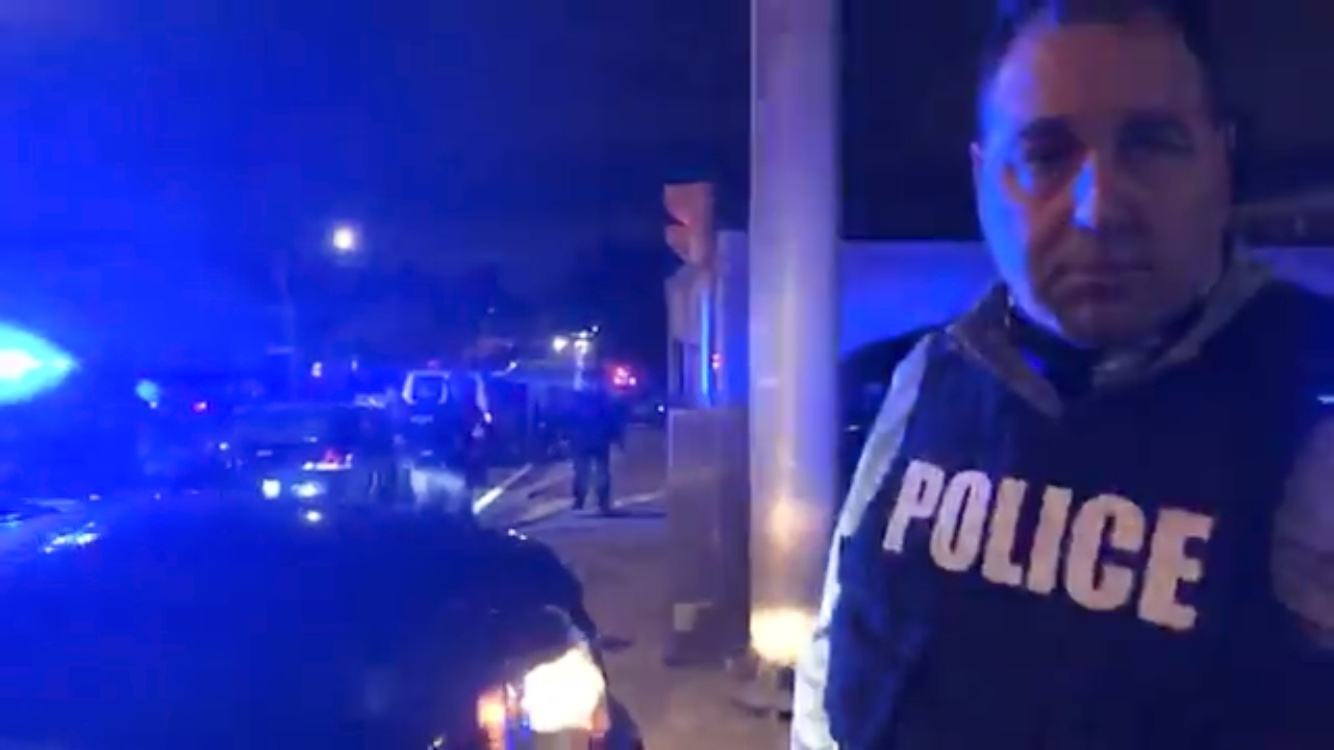 Video : Cranston Police defeat protesters again