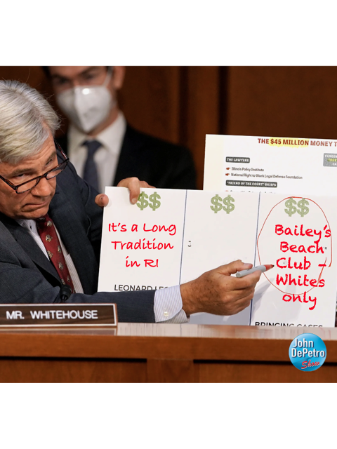 Senator Sheldon Whiteclub