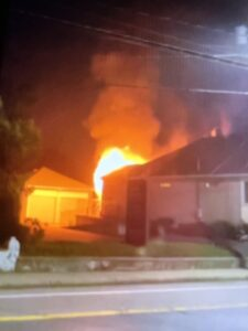 Read more about the article Exclusive video: Arson in North Providence on Smith street
