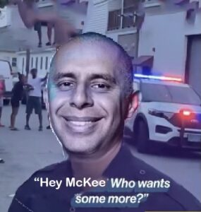 Read more about the article Video: Elorza held back from punching McKee