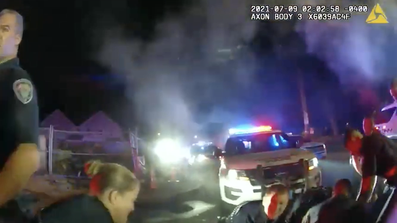 Read more about the article Watch: Providence Police bodycam from July 9