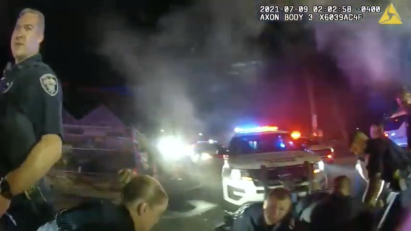 Read more about the article Watch: Providence Police bodycam car chase