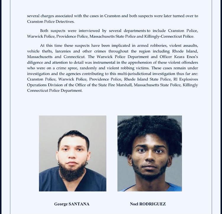 Read more about the article Cranston crime spree