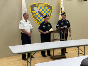 Read more about the article Warren Bristol Police briefing on murder