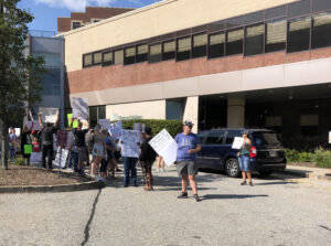 Read more about the article Watch: Healthcare workers protest McKee