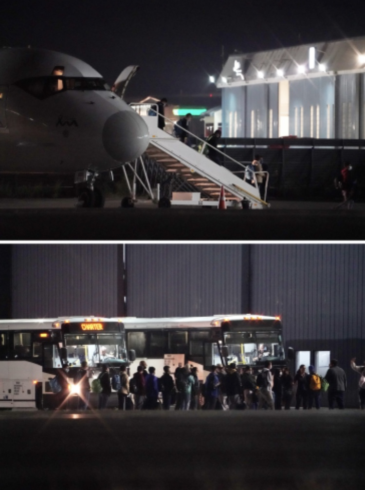 Read more about the article Video: Illegals flown to Quonset?